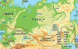 Сколько морей омывает Россию в настоящее время