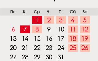Новогодние праздники 2020 г.: выходные и праздничные дни
