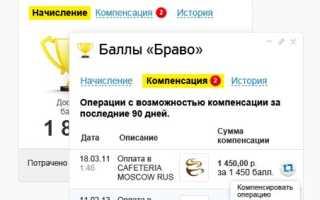 Отзыв о бонусной программе «Браво» ТКС Банка от клиента Волконского А