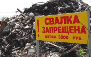 Что делать с несанкционированными свалками в городе: рассказываем пошагово