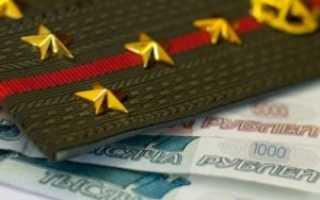 Зарплата военных: данные о доходе за 10 лет