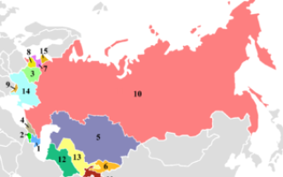 Республики СССР: как менялось количество
