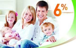 Льготная ипотека для семей с детьми в 2020 году: порядок и особенности кредита под 6 % годовых