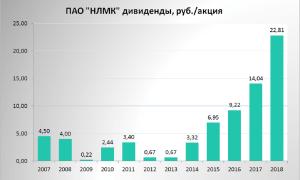 Дивиденды НЛМК в 2020 году: сроки и размер выплат