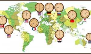 Сколько в России часовых поясов и зон в настоящее время
