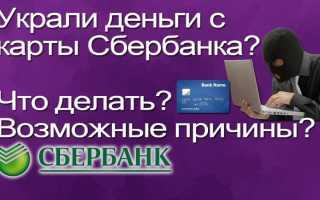 Сняты деньги с кредитной карты Сбербанка? Что нужно делать пошагово