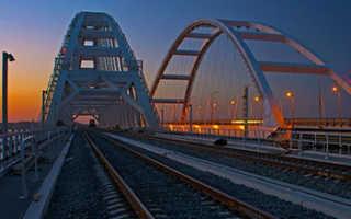 Когда будет открытие железнодорожного Крымского моста